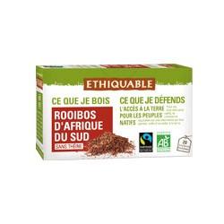 Thé rouge Rooibos d'Afrique du Sud (sans théine) éthiquable