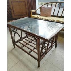 ROTIN : Table basse en rotin