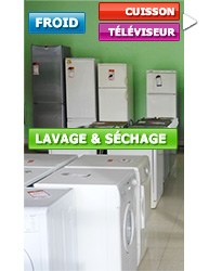 Electroménager : Cuisson, Froid, Lavage